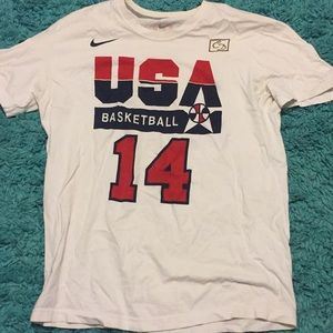 Charles Barkley Team USA t shirt dream team